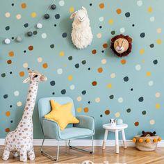 Boho Irregular Dot Wall Stickers - Project Nursery Modern Nursery Decor, Nursery Wall Art, Nursery Ideas, Safari Nursery, Wall Stickers, Wall Decals, Painted Rug, Project Nursery, Boy Room