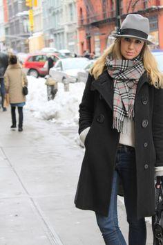 burberry scarf.