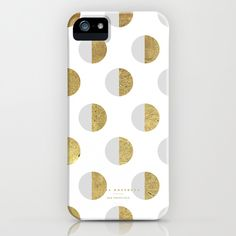 moon white - 5s/5 iPhone & iPod Case