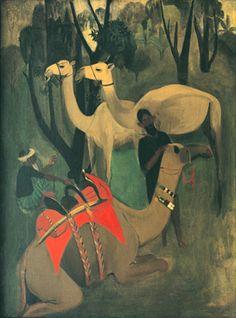 "Amrita Sher-Gil ""Camels"" 1941"