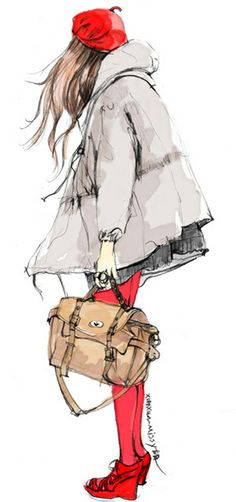 fashion, outfit, design, sketch