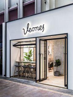 Cafe Shop Design, Coffee Shop Interior Design, Small Cafe Design, Salon Interior Design, Bakery Design, Restaurant Interior Design, Shop Front Design, Small Restaurant Design, Bakery Decor