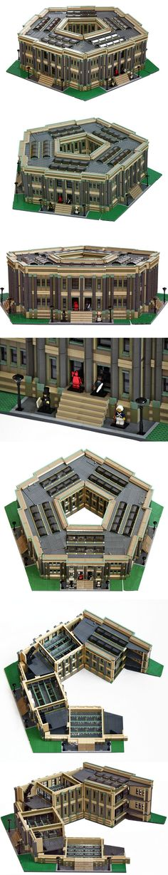 Wish one day i could build a building like this with LEGO, too...