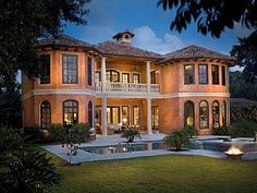 Waterfront Tuscan Mansion with Private Beach & Dock
