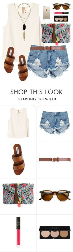 """""""colorful"""" by classically-preppy ❤ liked on Polyvore featuring Marni, Boohoo, Steve Madden, Maison Boinet, Star Mela, NARS Cosmetics, Stila and Kendra Scott"""
