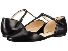 feee27e4bf55 Nine west zenda black black leather