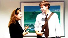 Halloween Costume Idea- Jim and Pam from the office