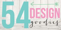 54 Design Goodies - free photoshop brushes, backgrounds, actions, tutorials, printables, and more | Hey Love Designs http://www.heylovedesigns.com/2013/05/30/54-design-goodies/