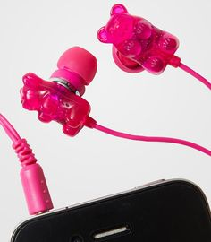 Scented gummybear headphones