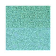 """Vintage Lace Impression Mat Set - $12, approx 5.5"""" x 3"""""""