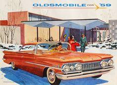1959 Oldsmobile Dynamic 88 Holiday Scenicoupe