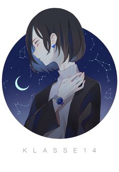 Anime Drawings illustration by kiruta - Anime Wolf, M Anime, Chica Anime Manga, Manga Girl, Anime Art Girl, Anime Guys, Anime Hair, Art Et Illustration, Character Illustration