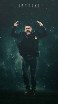 Rino Gattuso #football #milan #art #coach Football Design, Football Art, College Football, Ac Milan, Gennaro Gattuso, Milan Wallpaper, Joker Painting, Paolo Maldini, European Soccer