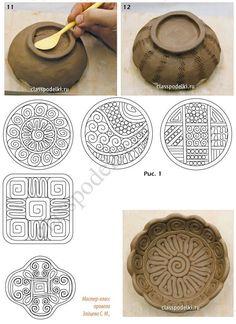 Мастер класс изготовления поделок из керамики для начинающих. #PotteryClasses