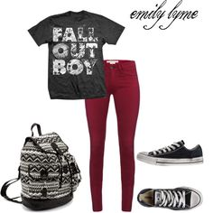 """""""fall out boy <3 """" by lyme on Polyvore"""