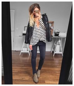 """Veste #isabelmarant (old) tee shirt Lou #eponymcreation sur @meleponym jean #aninebing sur @cyrielleforkure boots #isabelmarant (old) #ootd"""