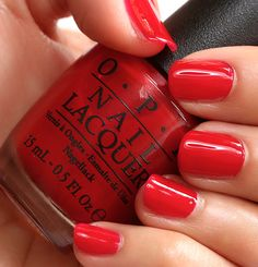 OPI Red Hot Rio | #EssentialBeautySwatches | BeautyBay.com