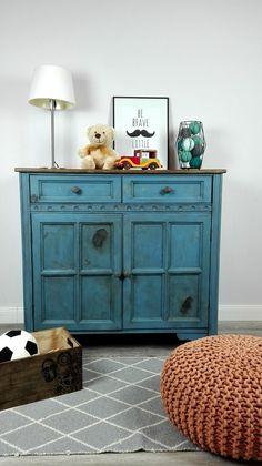 Régi komód új színben - a fiúszoba fókuszpontja Frenchic Furniture Paint