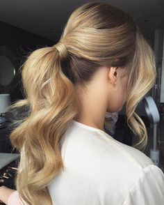 Formal Curly Ponytail