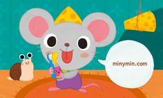 [아이코닉스] 치카치카 동물 유치원 – 미니민 MinyMin