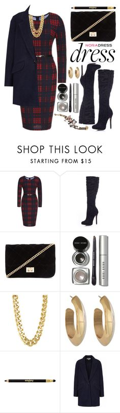 """""""Nora Dress"""" by oshint ❤ liked on Polyvore featuring Forever 21, Anello, Bobbi Brown Cosmetics, CC SKYE, House of Harlow 1960, Sisley Paris, vintage and noradress"""