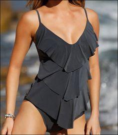 Magicsuit Solid Rita Soft Cup Swimsuit Tankini Top 97944