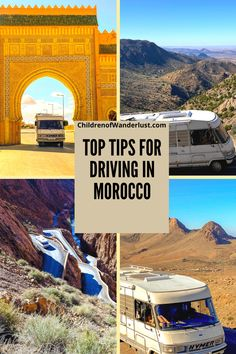 Ever considered driving in Morocco? If you haven't you should - it's a country great for exploring and there's really nothing to fear. Here's some tips, useful information and things you need to consider, that will help you to make sense of the different road types and rules of the road. | Driving in Morocco | Morocco Road classifications | Morocco road types | Road Trip | Camper Van Morocco