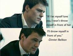 Vampire Academy Quotes | Dimitri Belikov | Danila Kozlovsky