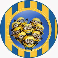 Despicable Me 2 Free Printable Kit.