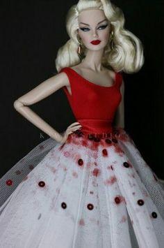 e3ad81b9b427 Fashion Royalty Dolls, Fashion Dolls, Gowns Of Elegance, Elegant Gowns,  Barbie Clothes