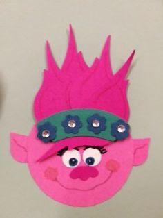 Prinzessin Poppy Trolls  Punch art, stampin up
