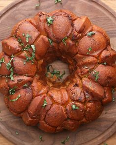 Cheesy Bacon Monkey Bread