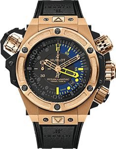 c5f7028f312 Buy this Hublot King Power Oceanographic 1000 King Gold here at Exquisite  Timepieces
