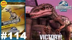 New  Jurassic World The Game  VIP Battles Episode 114 Tanycolagreus Vs I...