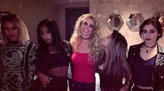 Dinah Jane, Normani, Britney Spears, Ally, Lauren