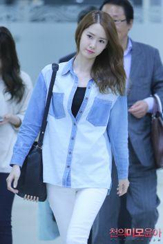 Yoona#윤아 #ユナ#SNSD#少女時代 #소녀시대 #GirlsGeneration 131002 Gimpo Chunyoon.com
