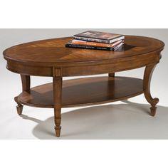 Magnussen Furniture T1052 Aidan Wood Oval Coffee Table