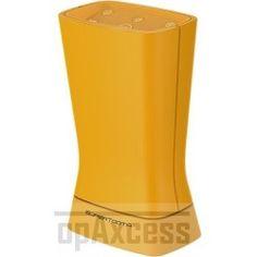 Enceinte portable Bluetooth stéréo jaune SuperTooth Disco 3