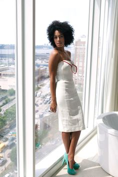Solange - has the best name and the best style.       Tumblr