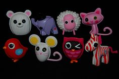 Some of the sew cute Lalaloopsy pets! Which of the pets do you have? #lalaloopsycollection