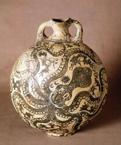 Octopus jar, from Palaikastro (Crete), Greece, ca. 1500 BCE.
