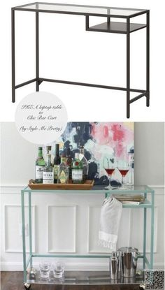 25. A Bar Cart - 33 Ikea #Hacks Anyone Can do ... → DIY #Great