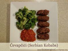 How to make Ćevapčići (Serbian Kebabs) Brunch Recipes, Baby Food Recipes, Summer Recipes, My Recipes, Favorite Recipes, Healthy Recipes, Cevapcici Recipe, Croation Recipes, European Cuisine