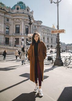 Warm Brown Now (Tsangtastic) Simple Winter Outfits, Winter Coat Outfits, Winter Fashion Outfits, Autumn Winter Fashion, Fall Outfits, Casual Outfits, Fall Fashion, Fashion Tips, Long Coat Outfit