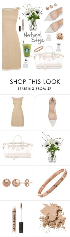 """Natural Style"" by irixiketa ❤ liked on Polyvore featuring Gianvito Rossi, Louis Vuitton, LSA International, Martha Stewart, Charlotte Russe and Bobbi Brown Cosmetics"