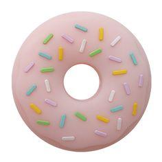donut teether silicone-quartz pink www.melikeysilicone.com