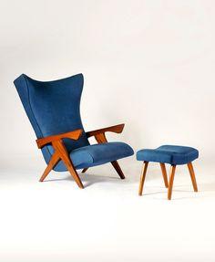 "josé zanine caldas, poltrona, déc. 50  | ""design brasileiro de móveis – cadeiras, poltronas, bancos"" (ed. olhares)"