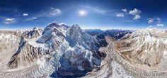 Monte Everest, Nepal e Tibete: pertencente à Cordilheira do Himalaia, esta é a maior montanha do planeta, com 8.844 metros. Há estudos que comprovam que o monte continua crescendo cerca de quatro milímetros por ano e que hoje ele estaria seis metros mais alto da sua última medição.