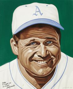 Jimmie Foxx Portrait by Andy Jurinko
