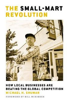 How does small local business come back from the brink of destruction? How do we battle the big box, job loss and the deficit while bringing back our Main Streets? This is a compelling and encouraging read!
